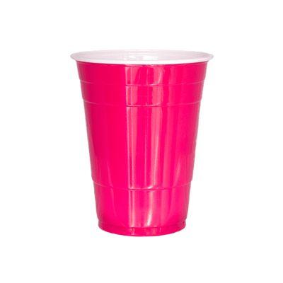 Foto van Red cups 473 ml (25 st.)