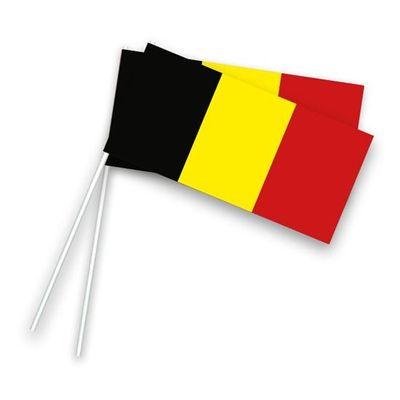 Foto van Zwaaivlaggetjes België