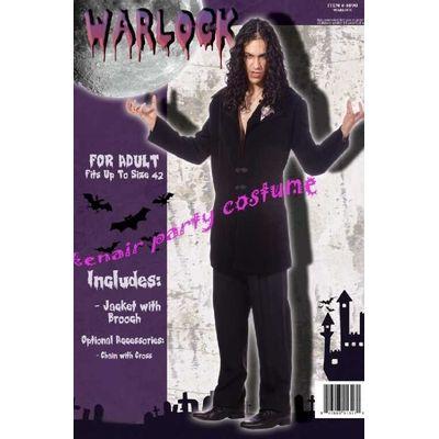 Foto van Zwarte Magiër kostuum