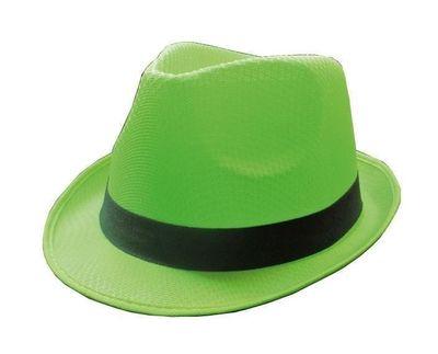 Groene neon hoed