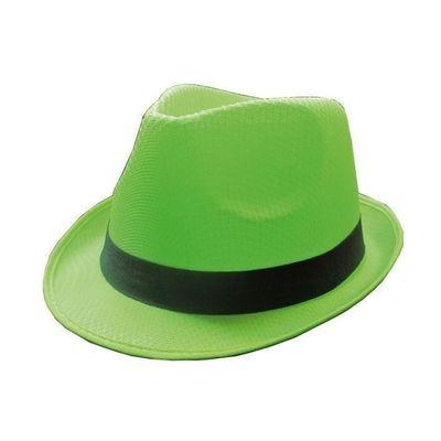 Foto van Groene neon hoed