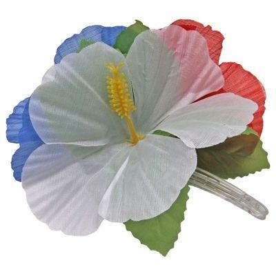 Foto van Hawai Haarclip bloemen RWB