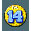 Afbeelding van Button 14 jaar