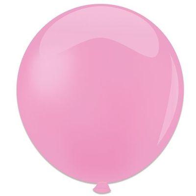 Topballon metallic roze (91cm)