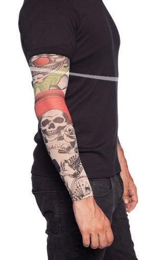 Tattoo Sleeve Doodshoofden