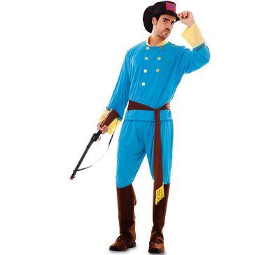 Western kostuum - confederaal