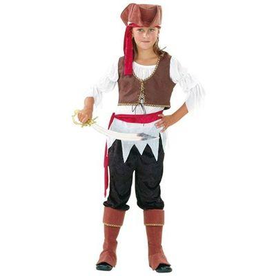 Piraten meisje kostuum