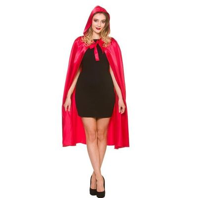 Roodkapje cape lang