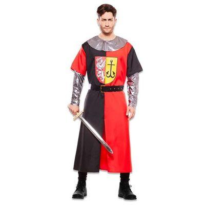 Foto van Middeleeuwse ridder kostuum - rood