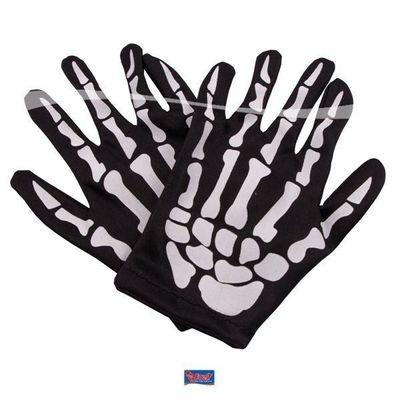 Skelet handschoenen kind
