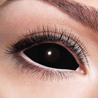 Sclera black eye 6-maandlenzen (paar)