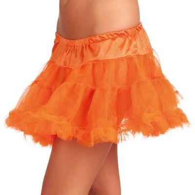 Petticoat oranje kort