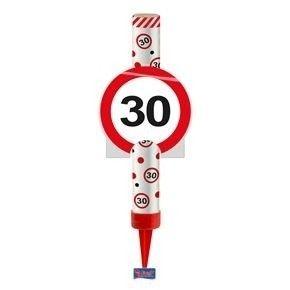 IJsfontein verkeersbord 30 jaar
