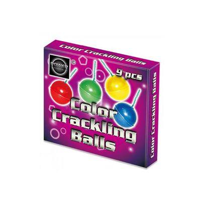 Foto van Color crackling balls 9 stuks