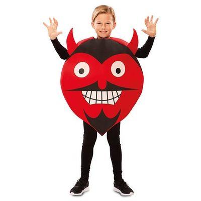 Emoticon kostuum duivel - kind