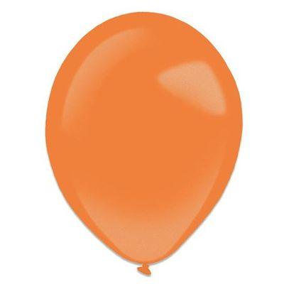 Ballonnen tangerine metallic (13cm) 100st