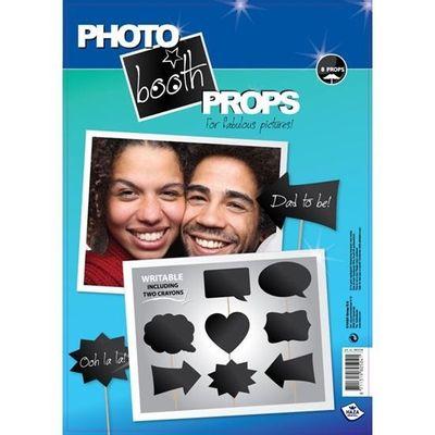Foto van Photo booth props schrijfbaar (8 stuks)