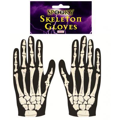 Foto van Skelet Handschoenen Volwassenen