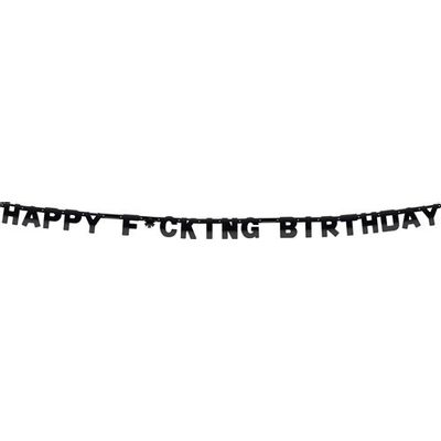 Letterslinger Happy Fucking Birthday