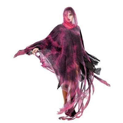 Halloween poncho rood