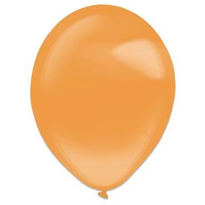 Ballonnen tangerine crystal (35cm) 50st
