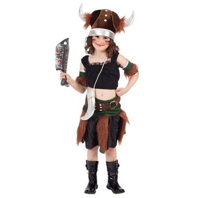 Foto van Viking meisje kostuum