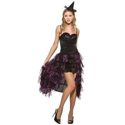 Heksen jurk - zwart