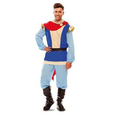 Foto van Blauwe prins kostuum