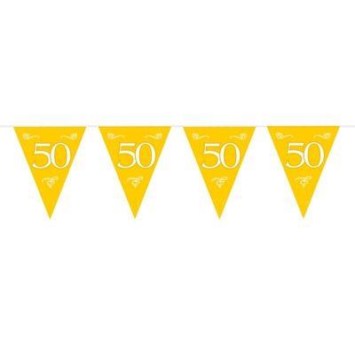 Vlaggenlijn 50 Goud/stk