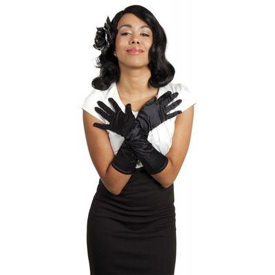 Foto van Jaren 20 handschoenen zwart