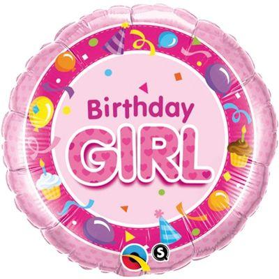 18V Birthday Girl pink