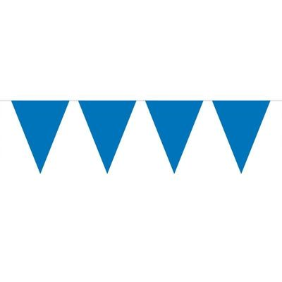 Mini Vlaggenlijn Blauw /3mtr