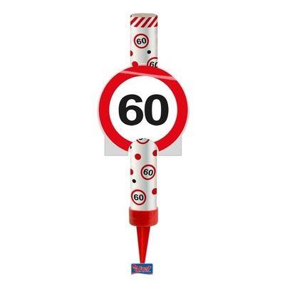 Foto van IJsfontein verkeersbord 60 jaar