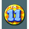 Afbeelding van Button 11 jaar