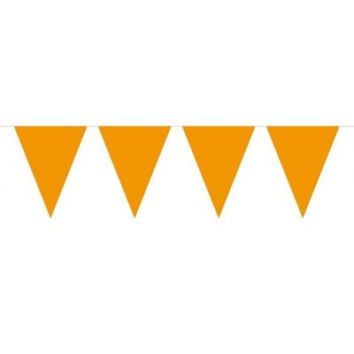 Mini Vlaggenlijn Oranje /3mtr