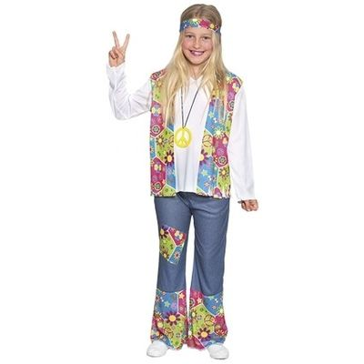 Hippie bloemenmeisje kostuum