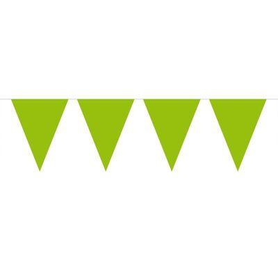 Vlaggenlijn Effen Lime Groen /10mtr