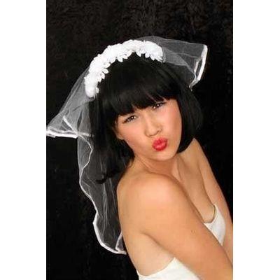 Foto van Beugel met bruidssluier