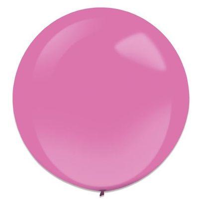 Ballonnen hot pink (60cm) 4st