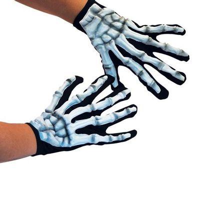 Foto van Skelet Handschoenen Glow in the dark