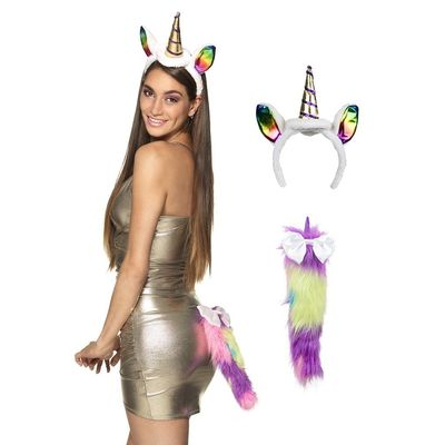 Foto van Unicorn diadeem set