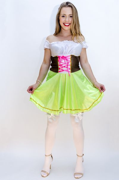 Oktoberfest jurk Hilde (kleine maat)