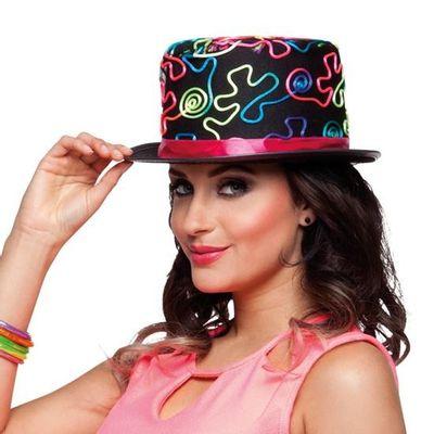 Hoge hoed neon