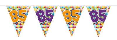 Mini Vlaggenlijn Bday Blocks 85 jaar