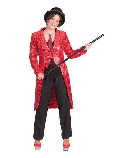 Circus slipjas rood dames
