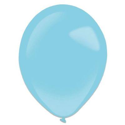 Ballonnen caribbean blue (35cm) 50st