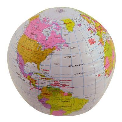Foto van Opblaas Wereldbol 40 cm