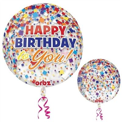 Foto van Ballon Folie Happy Birthday to You