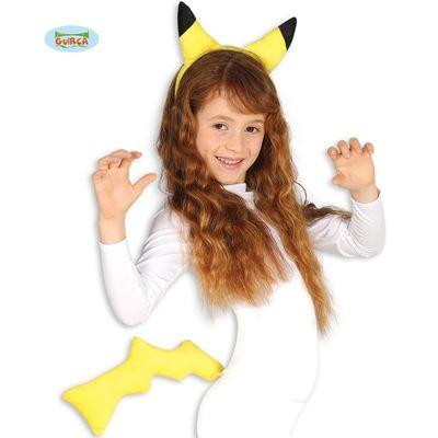 Foto van Pikachu set oren en staart