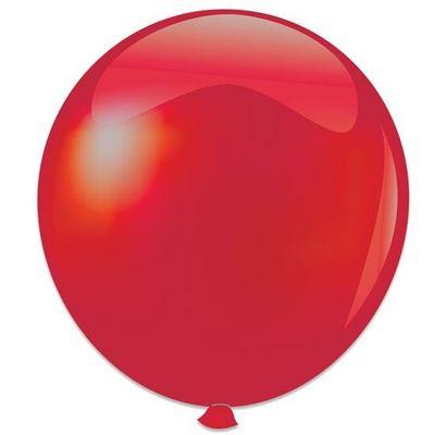 Topballon metallic rood (91cm)